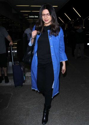 Priyanka Chopra at LAX Airport in Los Angeles