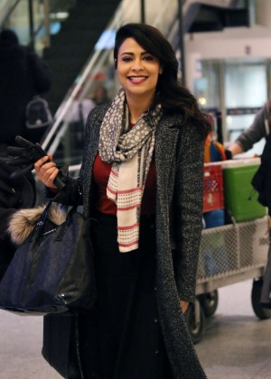 Priyanka Chopra at Pierre Elliott Trudeau Airport in Montreal