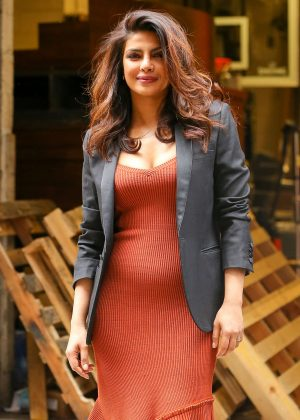 Priyanka Chopra at The Kelly Show to Promote 'Quantico' in New York City