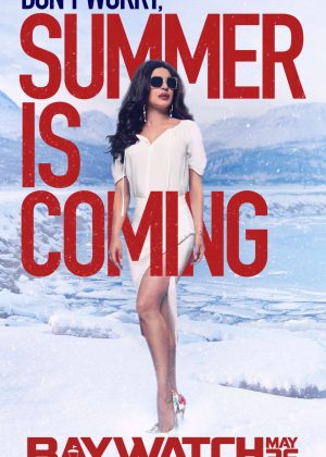 Priyanka Chopra - Baywatch Poster