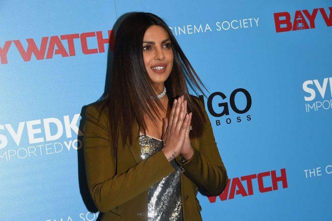Priyanka Chopra: Baywatch Screening in NYC -05