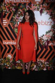 Priyanka Chopra - Bumble Bizz app new campaign launch in Mumbai