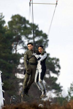 Priyanka Chopra - 'Citadel' set filming in London