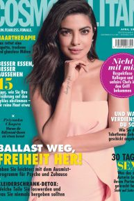 Priyanka Chopra - Cosmopolitan Magazine (Germany - April 2020 issue)