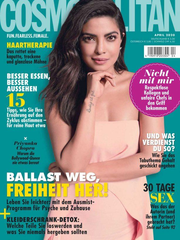 Priyanka Chopra - Cosmopolitan Magazine (Germany - April 2020 issue)