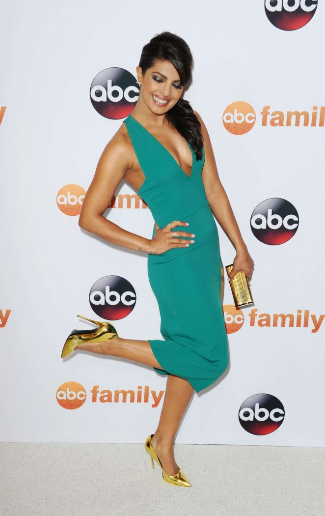Priyanka Chopra - Disney ABC 2015 Summer TCA Press Tour Photo Call in Beverly Hills