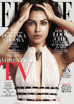 Priyanka Chopra - Elle Magazine Cover (February 2016)