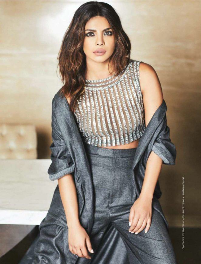 Priyanka Chopra - Femina India Magazine (October 2017)