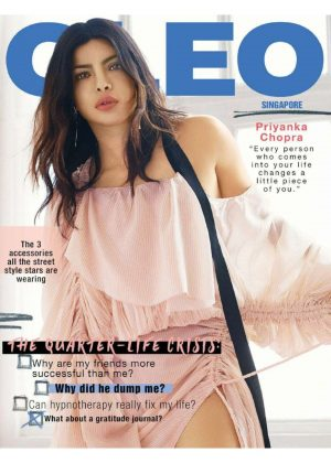 Priyanka Chopra for CLEO Singapore Magazine (October 2018)