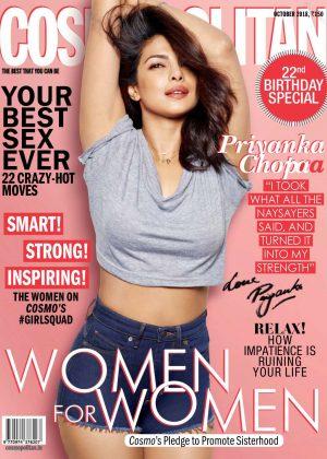 Priyanka Chopra for Cosmopolitan India Magazine (October 2018)