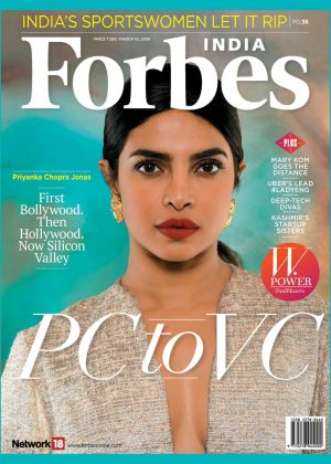 Priyanka Chopra - Forbes India Magazine (March 2019)