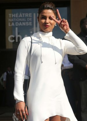 Priyanka Chopra - Giorgio Armani Fashion Show 2017 in Paris