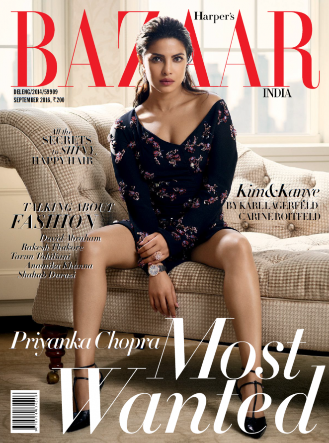 Priyanka Chopra - Harper's Bazaar India Magazine (September 2016)