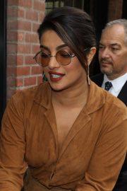 Priyanka Chopra - In a brown ensemble at the LA Times Junket at TIFF in Toronto