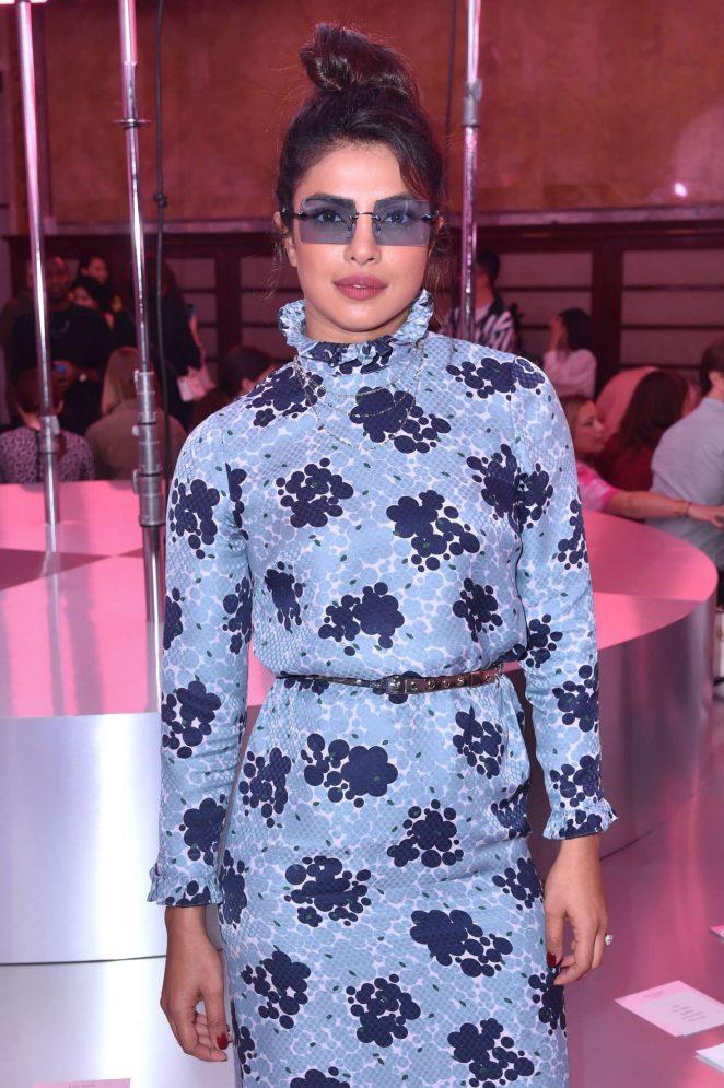 Priyanka Chopra - Kate Spade 2019 Fashion Show in New York