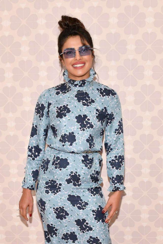 Priyanka Chopra - Kate Spade Fashion Show in NYC