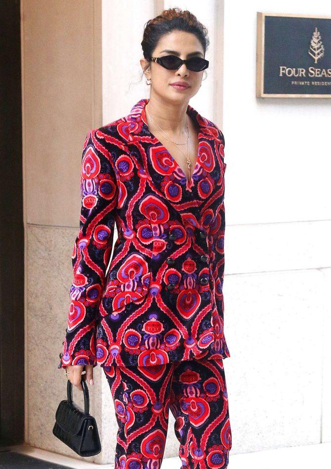 Priyanka Chopra – Leaving Four Seasons Hotel in New York