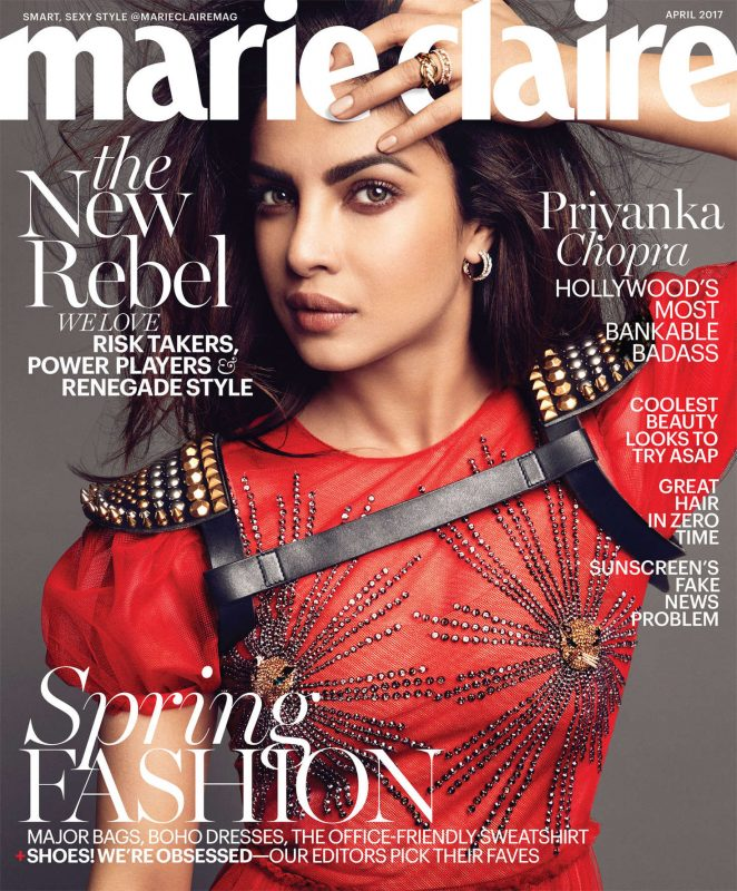 Priyanka Chopra - Marie Claire US Magazine (April 2017)