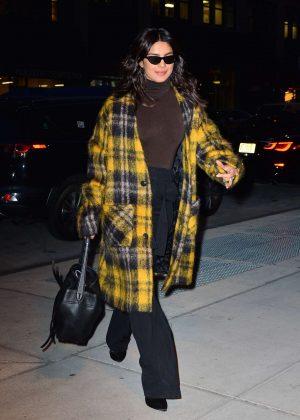 Priyanka Chopra - Night out in New York