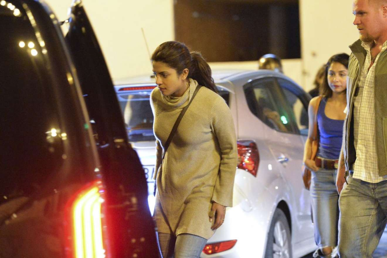 Priyanka Chopra 2017 : Priyanka Chopra: Night Out in Rome-01
