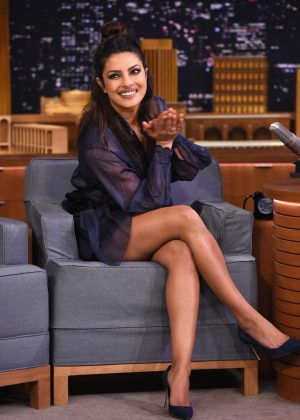 Priyanka Chopra on 'The Tonight Show Starring Jimmy Fallon' in NY