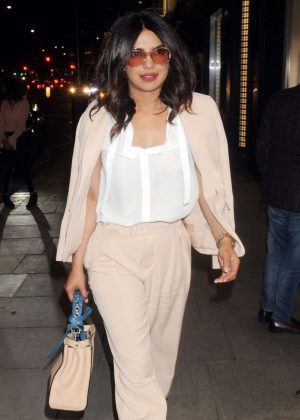 Priyanka Chopra - Out and about in London