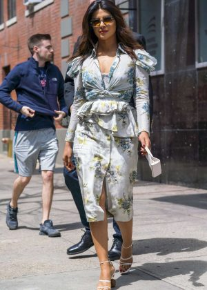 Priyanka Chopra out and about in New York City