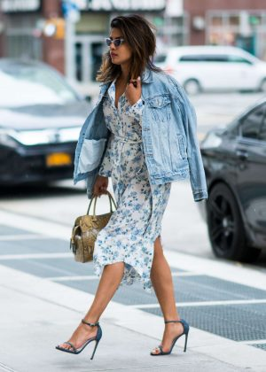 Priyanka Chopra - Out and about in New York