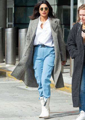 Priyanka Chopra - Out and about in NYC