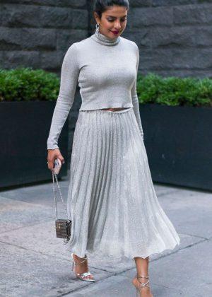 Priyanka Chopra out for dinner in New York