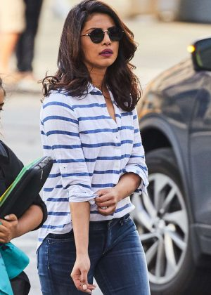 Priyanka Chopra in Tight Jeans out in NYC