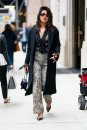 Priyanka Chopra - Out in Tribeca New York City