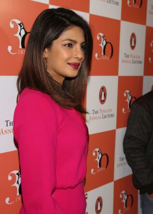 Priyanka Chopra - Penguin Annual Lecture 2017 in New Delhi