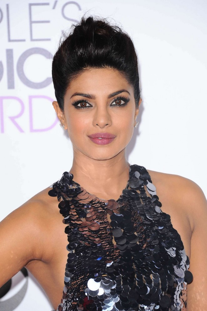 Edgy Updo | 11 Times Priyanka Chopra Killed It In Hair & Beauty Department