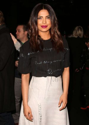 Priyanka Chopra - Prabal Gurung Show at 2017 NYFW in New York