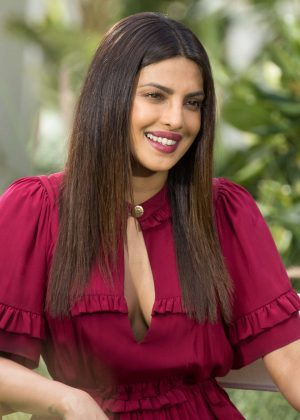 Priyanka Chopra - Promotes 'Baywatch' movie in Miami Beach