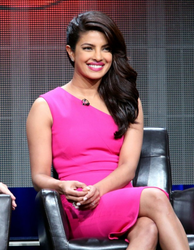 Priyanka Chopra - 'Quantico' Panel 2015 Summer TCA Tour in Beverly Hills