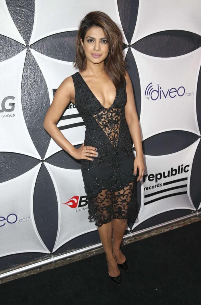 Priyanka Chopra: Republic Records Big Machine Label Group Grammy Celebration -02