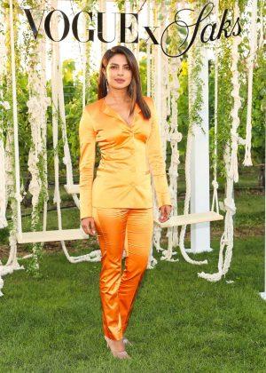 Priyanka Chopra - Saks Fifth Avenue + Vogue Summer celebration in Sagaponack