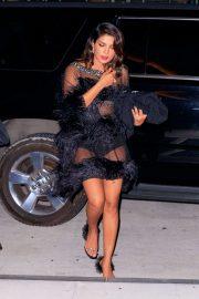 Priyanka Chopra - Seen at Joe Jonas' Bond Themed Birthday Party in New York