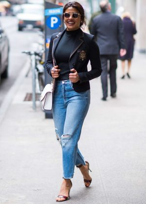 Priyanka Chopra - Spotted while out in New York City