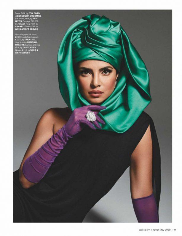 Priyanka Chopra - Tatler UK Magazine (May 2020)