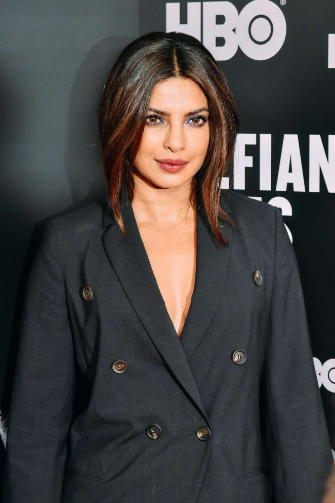 Priyanka Chopra - 'The Defiant Ones' TV Show Premiere in New York