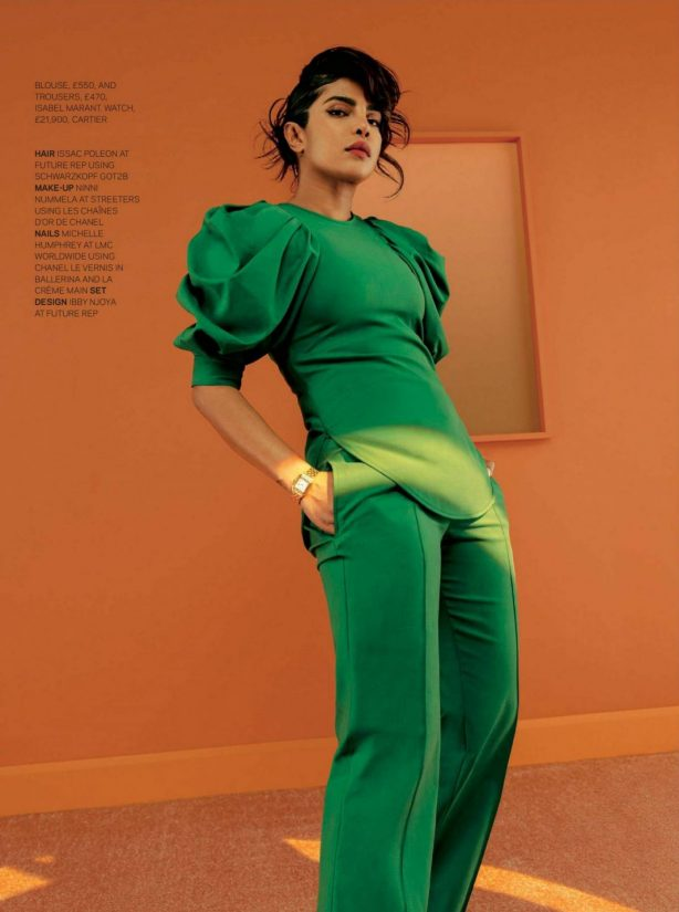 Priyanka Chopra - The Sunday Times Style Magazine (January 2021)