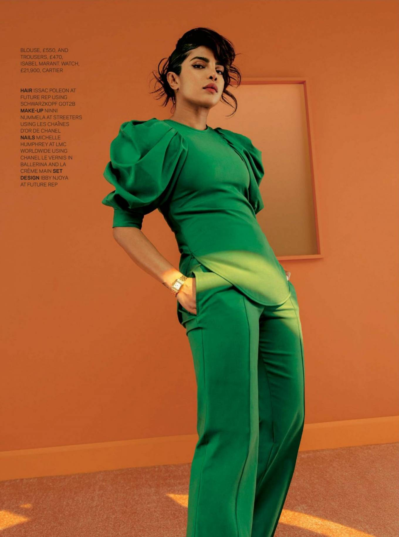 Priyanka Chopra - The Sunday Times Style Magazine (January 2021)