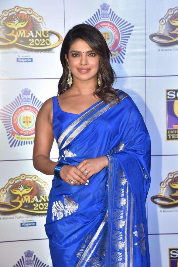 Priyanka Chopra - Umang 2020 Police Awards in Mumbai