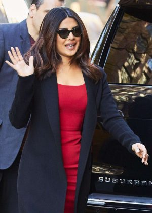 Priyanka Chopra - Visiting The View in New York City