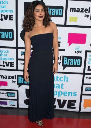 Priyanka Chopra - 'Watch What Happens Live' in New York City