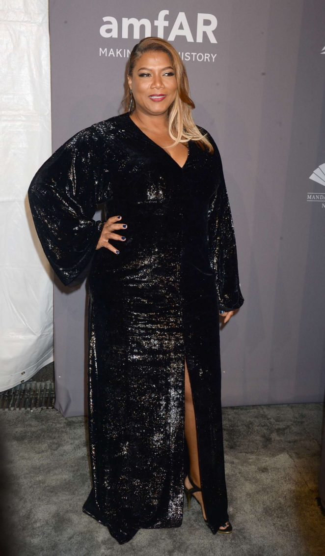 Queen Latifah - 2018 amfAR Gala in New York