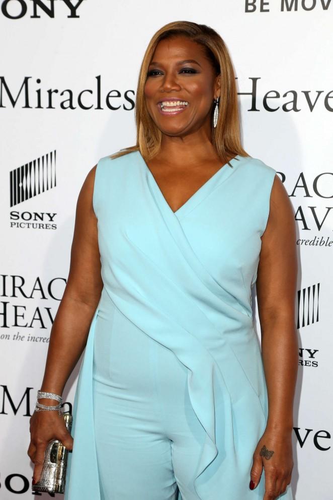 Queen Latifah - 'Miracles from Heaven' Premiere in LA